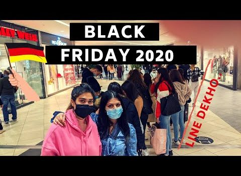 Black Friday Sale , Indians Shopping in Germany , German Mall