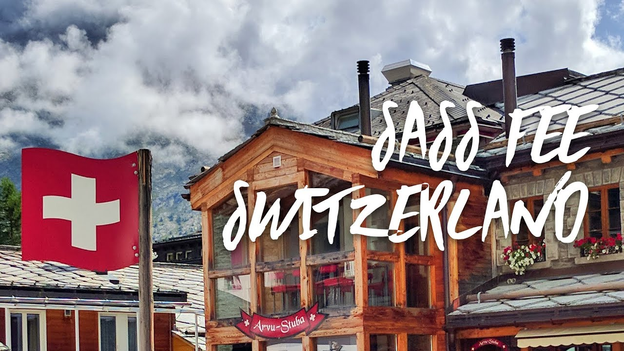 Discover Saas Fee Switzerland | Our Mystery Day Trip Revealed!