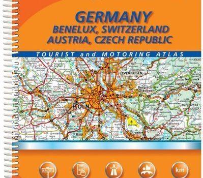 Michelin Germany/Benelux, Switzerland, Austria, Czech Republic Tourist... - Michelin GermanyBenelux Switzerland Austria Czech Republic Tourist 399x350