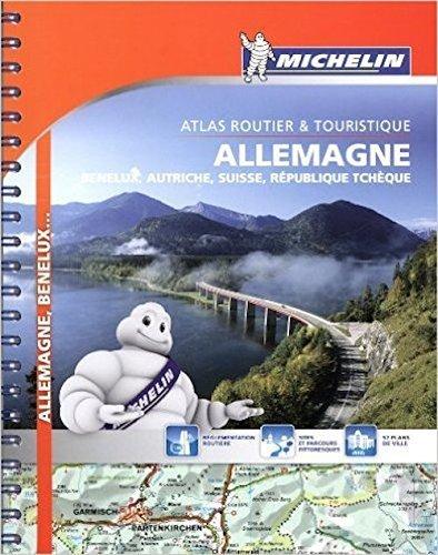 Michelin Path Atlas Germany, Benelux, Austria, Switzerland, Czech Repu... - Michelin Road Atlas Germany Benelux Austria Switzerland Czech Repu