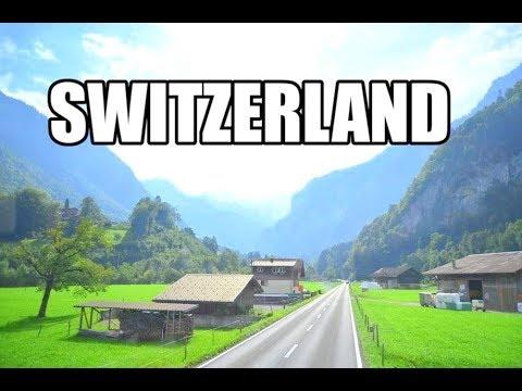 SWITZERLAND - World's Most Beautiful Mountains - Best Scenic Swiss...