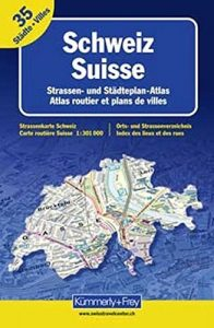 Switzerland, Atlas path by Collectif (2002-08-02) - Switzerland Atlas Road by Collectif 2002 08 02 196x300