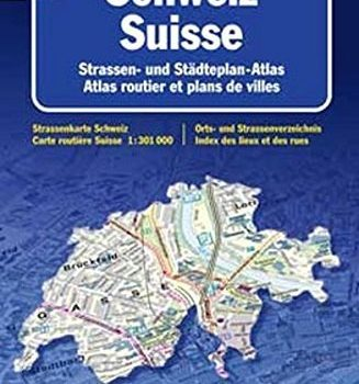 Switzerland, Atlas path by Collectif (2002-08-02) - Switzerland Atlas Road by Collectif 2002 08 02 327x350