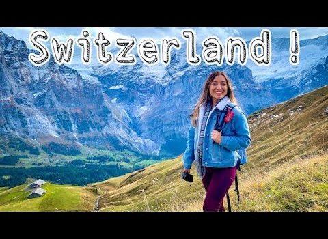 Switzerland Trip! Exploring Grindelwald & Zurich