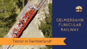 TERROR in SWITZERLAND! Gelmerbahn Funicular - Motorhome Tour Europe - ...