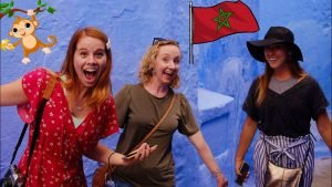 Visiting MOROCCO for the First Time! (The Blue City - Chefchaouen &amp...
