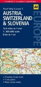 By AA Publishing - Path Map Austria, Switzerland & Slovenia (Path Map ... - By AA Publishing Road Map Austria Switzerland Slovenia 141x300