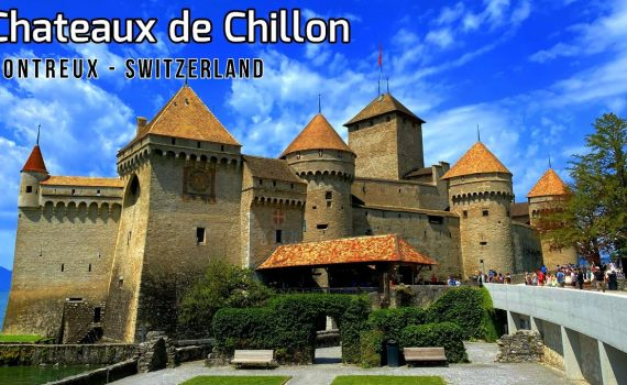 Chateaux de Chillon Switzerland - Chillon Castle Tour Montreux - Lake ...