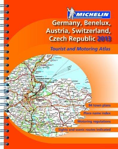Germany, Benelux, Austria, Switzerland, Czech Republic 2013 - A4 spira... - Germany Benelux Austria Switzerland Czech Republic 2013 A4 spira