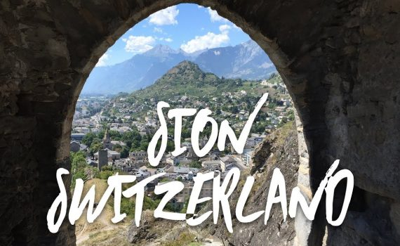 Join us for a tour of 6000 year old Sion Switzerland