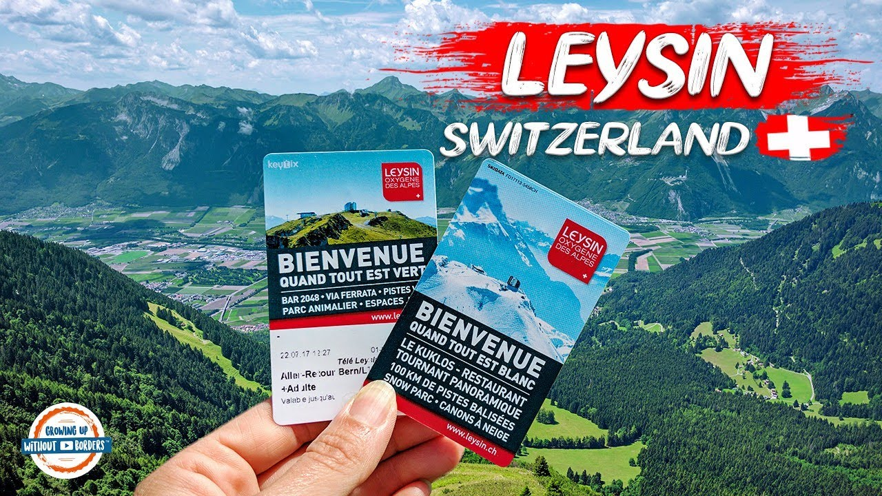 Join us for a tour of Leysin Switzerland and a view from the top of th...
