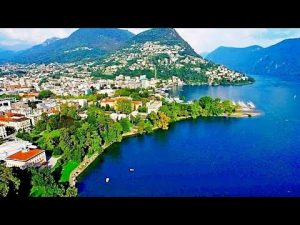 SwissOnlineDating.ch - The best dating site in Switzerland! - LUGANO Switzerland incredible and amazing view from a drone 300x225