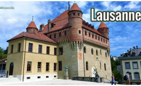 Lausanne, Switzerland - travel video Full HD