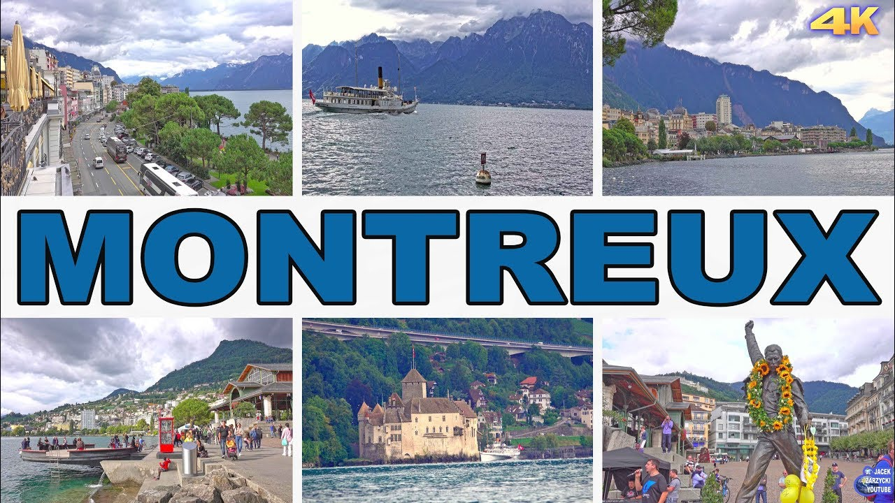 MONTREUX - SWITZERLAND 4K