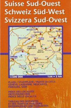 Michelin Map 552 Regional. Suisse Sud-Quest, Schweiz Sud-West, Svizzer... - Michelin Map 552 Regional Suisse Sud Quest Schweiz Sud West Svizzer 231x350