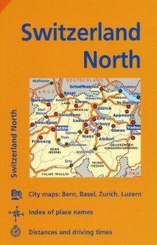 Michelin Switzerland: North Map 551 (Maps/Regional (Michelin)) by Mich... - Michelin Switzerland North Map 551 MapsRegional Michelin by Mich 224x350
