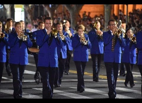 Opening Parade of Shanghai Tourism Festival 2016 - Brass Band MG Oberr...