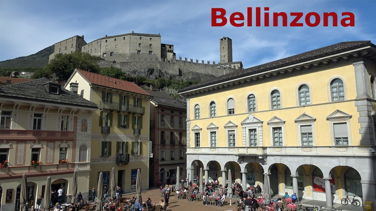 Travel guide Bellinzona, Switzerland