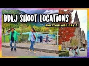 DDLJ Shooting Locations in Switzerland ||Gstaad,Interlarken Saanen,Zwe...