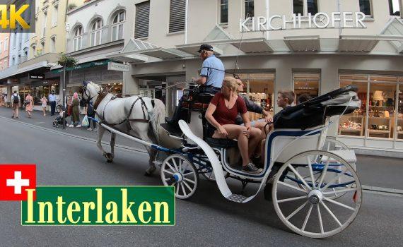 Interlaken, Switzerland - Walking Tour 🇨🇭