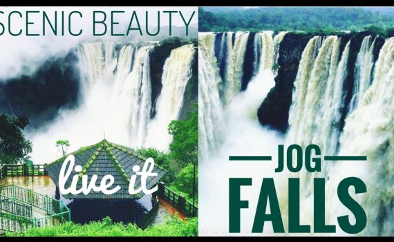 Jog Falls || India's 3rd highest water fall || Visiting places in ...