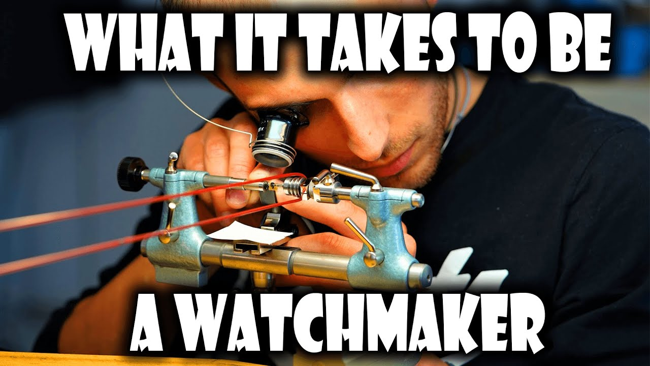 Visiting a Watchmaking School in Le Locle Switzerland KHWCC Part 4