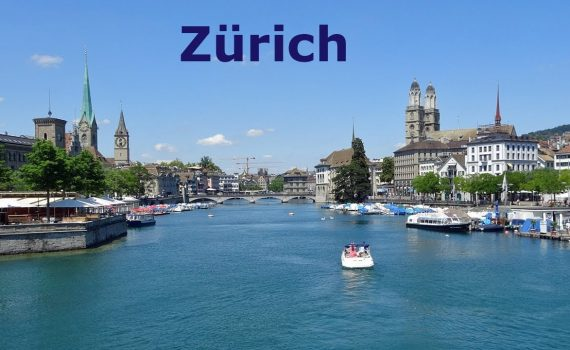 Zurich, Switzerland. Travel Guide with main Tourist Attractions