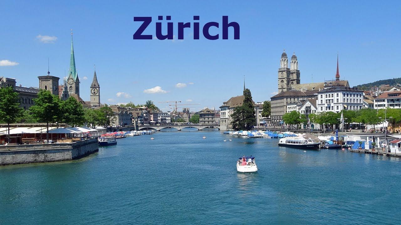 Zurich, Switzerland. Travel Guide with main Tourist Attractions