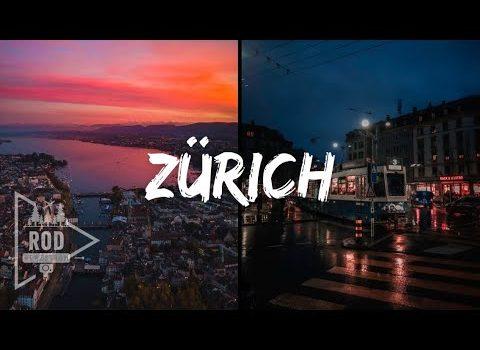Zurich Switzerland VLOG Winter Night and Walking tour for 2021