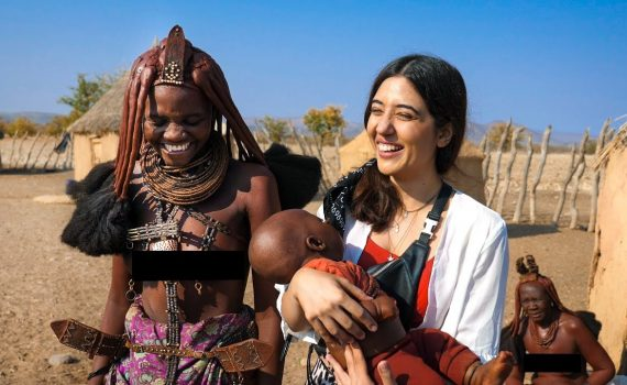Himba Tribal Women & their lifestyle .. I'm Moved! Namibia Vlo...