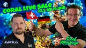 📢Korallen Live Sale für DE & Swiss⭐Live @ Reefmonkeys⭐