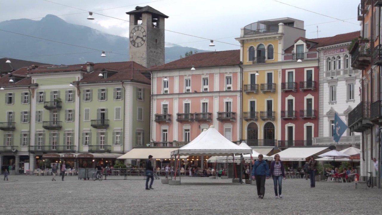 Locarno  and Ascona in the Ticino, Switzerland