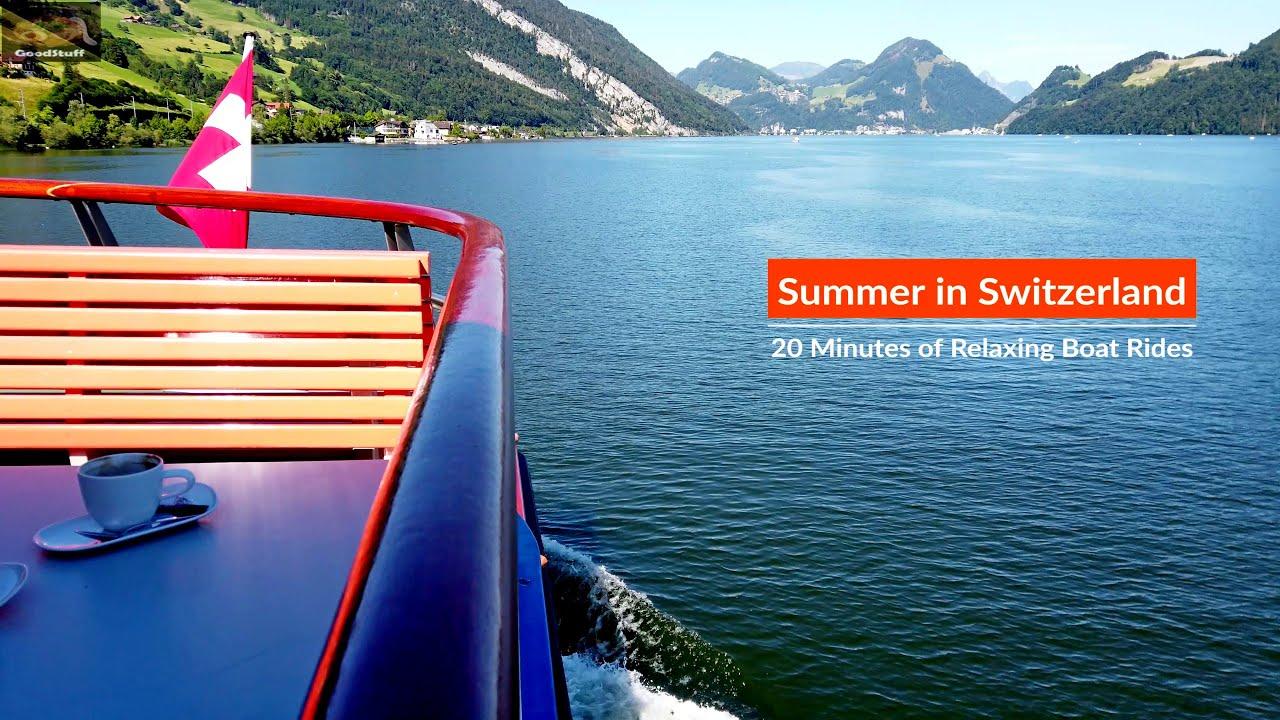 Relaxation Switzerland, Boat Ride on Lake Lucerne