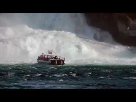 "Visiting Europe's Largest Waterfall ""Rheinfall"""