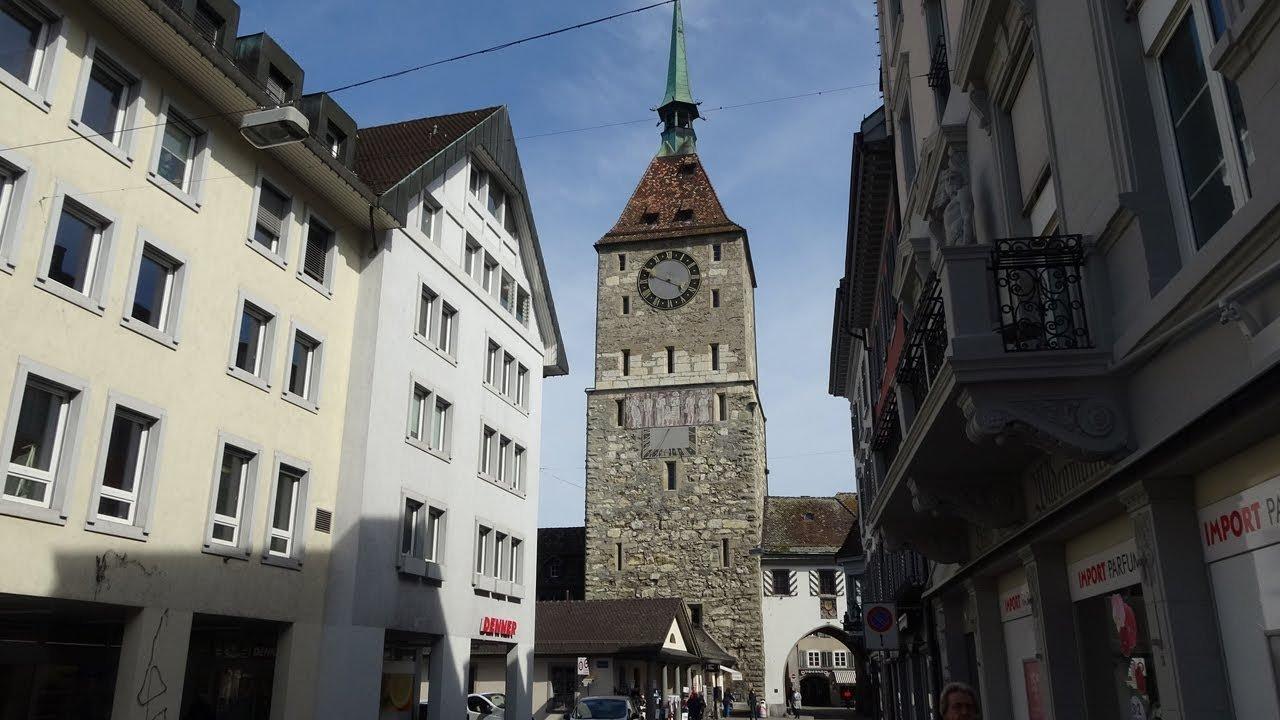 Aarau, Switzerland, where Albert Einstein started his career