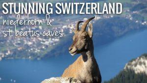 Exploring Niederhorn & The St. Beatus Caves    The Switzerland Ser...