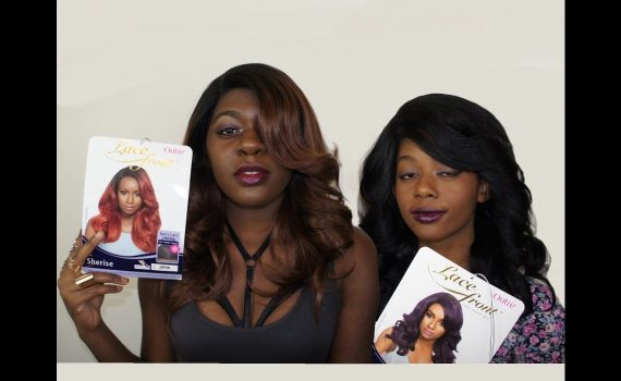 Fall Hair Review + Styling   OUTRE Synthetic L-Part Swiss Lace Front W...