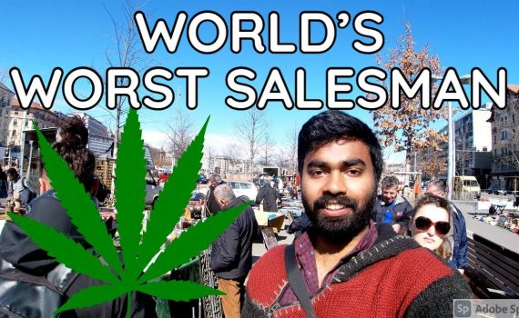 Worlds Worst Salesman sold me this in Switzerland | Indian Vlogger | L...