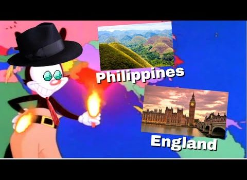 Yakko's World but it has the most famous TOURIST ATTRACTION in tha...
