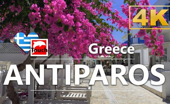ANTIPAROS (Αντίπαρος), Greece ► Video Guide, 36 min. Overview 4K ► Mel...