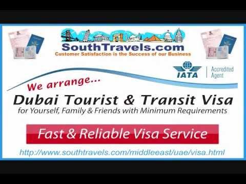 Dubai Visa - How To Get Dubai Tourist Visa & Dubai Transit Visa FA...