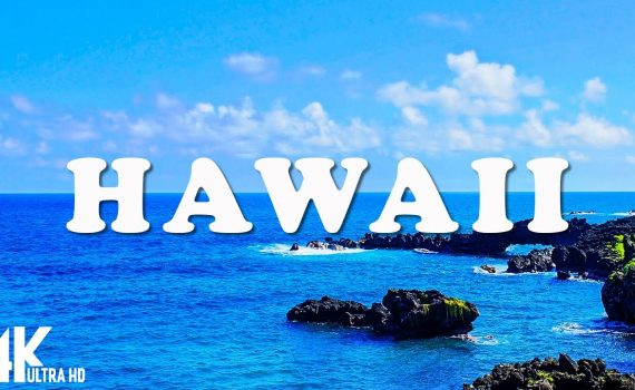 Hawaii 4K - Relaxing Music Along With Beautiful Nature Videos