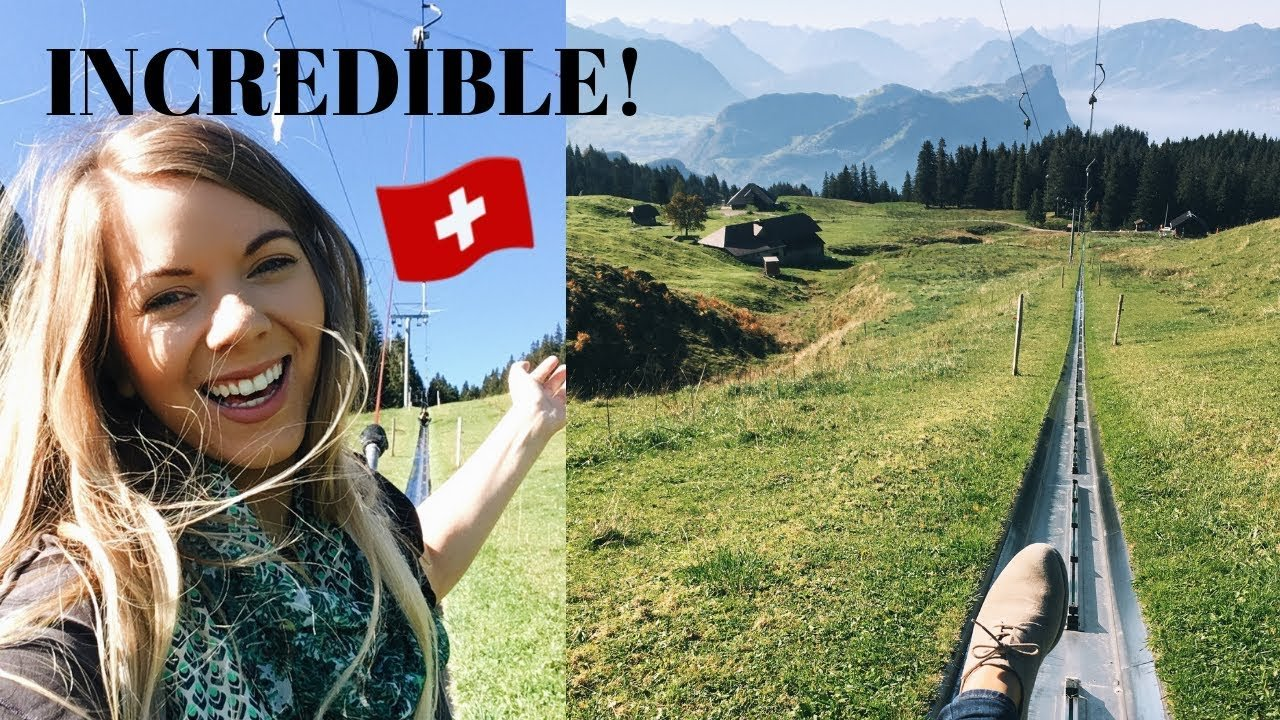 SWITZERLAND | CRAZY MOUNTAIN COASTER (live ride along)