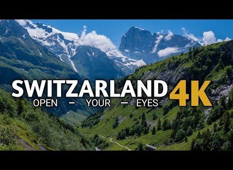 Switzerland 4K • Beautiful Relaxing Music • Relaxation Film • World to...