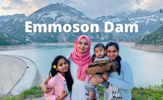 Switzerland  beautiful places| Emmoson Dam I tour de France route - MU...