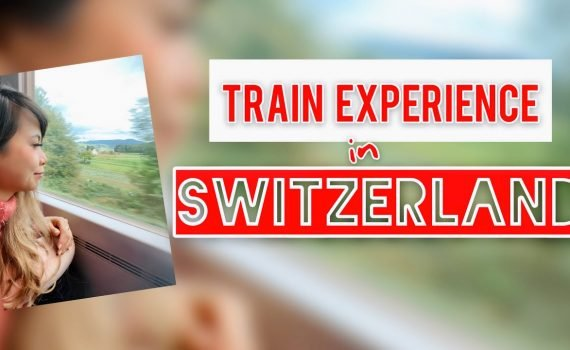 TRAIN TO SEE THE BEAUTIFUL VIEW IN SWITZERLAND/ Europe Train/ Pinay Vl...