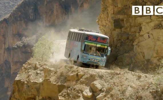The world's most dangerous bus route  | Mountain: Life at the Ext...