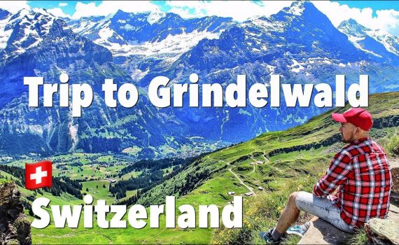 Things to do in Grindelwald Switzerland | First Cliff Walk Top of Adve...