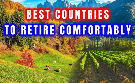 Top 5 BEST COUNTRIES to Live in the world for EXPATS on a BUDGET 2021