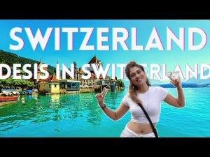 3.दुनिया का सबसे खूबसूरत शहर Interlaken Switzerland| Day 1 Episode 3| ...